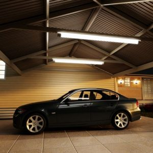 Photo Of A Carport With A Car
