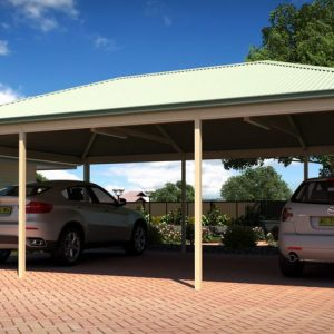 Photo Of A Carport With Cars