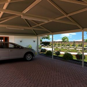 Spacious Carport Design