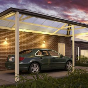 Carport With Lights