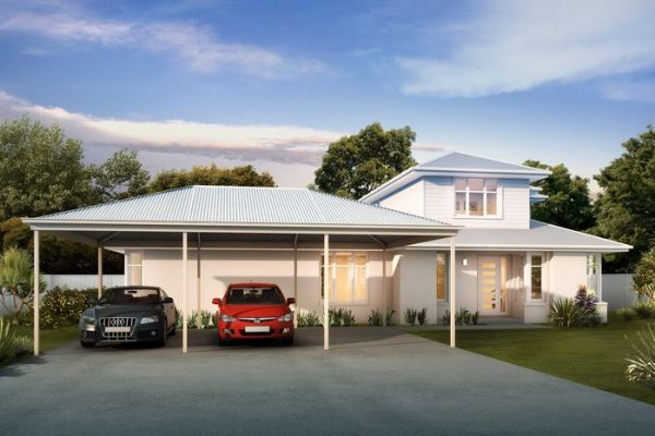 Photo Of A Carport With Cars Under