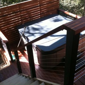 Timber Decks, Handrails, Stainless Steel Wire Handrails, Stairs 3